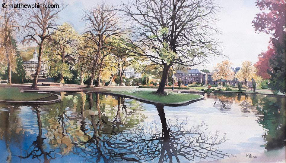 The Pavillion Gardens, Buxton