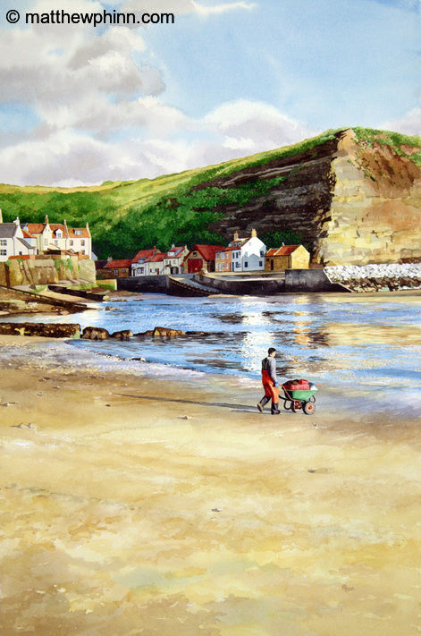 Early Morning at Staithes