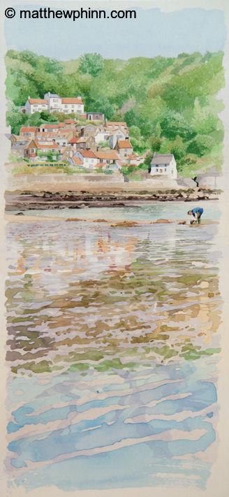 Cockle Picker at Runswick Bay