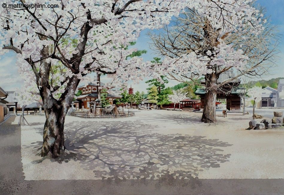 Behind Itsukushima