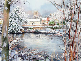 Tickhill Snow Scene