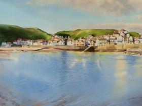 Staithes from the Sea