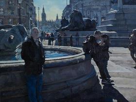 Winter Light, Trafalgar Square