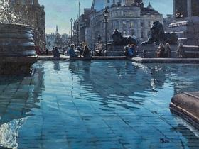 Reflections, Trafalgar Square